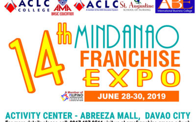 "Come and join AMA Franchise at the ""14th Mindanao Franchise Expo"""